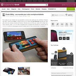 iCade 8-Bitty : une manette pour votre smartphone/tablette
