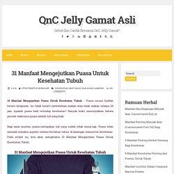 31 Manfaat Mengejutkan Puasa Untuk Kesehatan Tubuh ~ QnC Jelly Gamat Asli