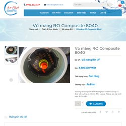 Vỏ màng RO Composite 8040