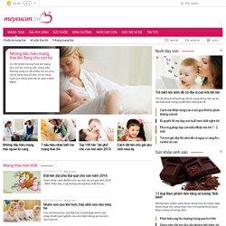 Mang thai - Sức khỏe, dinh dưỡng mẹ cần biết khi mang thai.