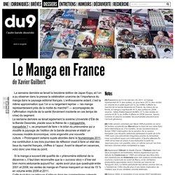 Le Manga en France