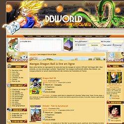 Mangas Dragon Ball à lire en ligne