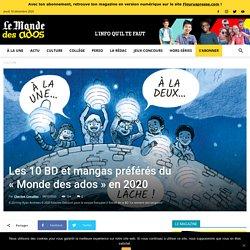 """Les 10 BD et mangas préférés du """"Monde des ados"""" en 2020"""
