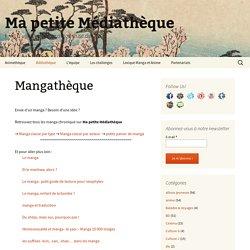Ma petite médiathèque: mangathèque