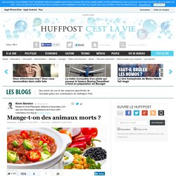 Mange-t-on des animaux morts ?