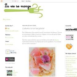La vie se mange: Loukoums à la rose (sans gélatine)