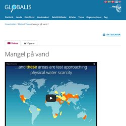 Mangel på vand - Globalis.dk