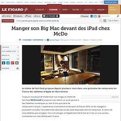 Des iPad chez McDo (Pilote, France)