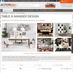 Table a manger - Table design - Alterego France