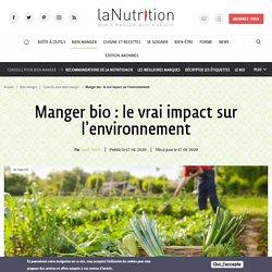 Manger bio : le vrai impact sur l'environnement