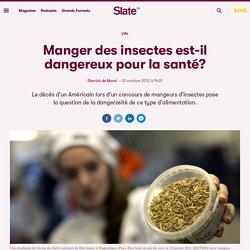 Manger des insectes est-il dangereux pour la santé?