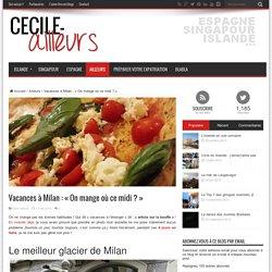 Où manger à Milan ?