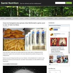 Vous ne mangerez plus jamais chez McDonald's après avoir lu ces 10 faits horribles