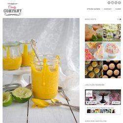 Mango Curd z limonką