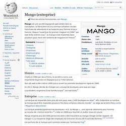 Mango (entreprise)