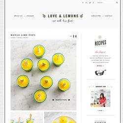 mango lime pops