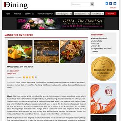 Mango Tree On The River – Bangkok Best Dining