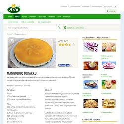 Mangojuustokakku - Reseptit - Arla Keittiö