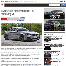 Manhart Fits M235i With MH2 400 Widebody Kit