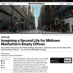 Imagining a Second Life for Midtown Manhattan's Empty Offices