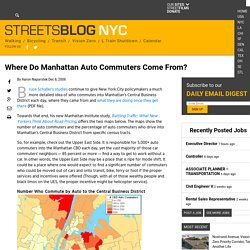 Where Do Manhattan Auto Commuters Come From? – Streetsblog New York City