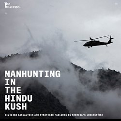 Manhunting in the Hindu Kush