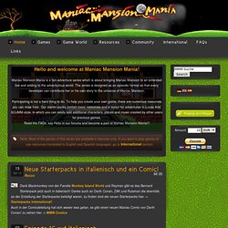 Maniac Mansion Mania - Home