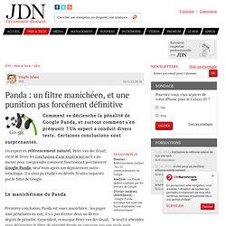 Panda : un filtre manichéen, et une punition pas forcément définitive - Journal du Net Solutions