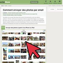 4 manières de envoyer des photos par email