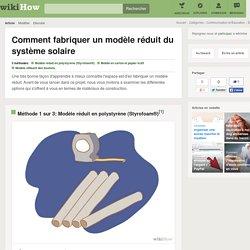 3 manières de fabriquer un modèle réduit du système solaire