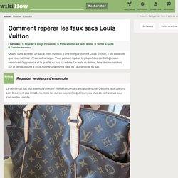 4 manières de repérer les faux sacs Louis Vuitton