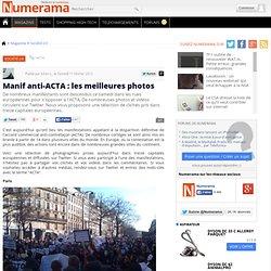 Manif anti-ACTA : les meilleures photos