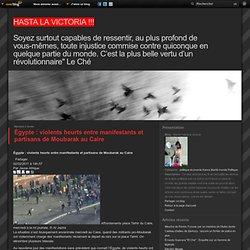 Égypte : violents heurts entre manifestants et partisans de Moubarak au Caire