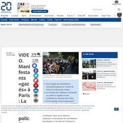 VIDEO. Manifestants «gazés» à Paris: La réponse policière était-elle proportionnée?