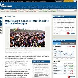 Plus de 250000 personnes manifestent à Londres contre les coupes budgétaires - Minefield