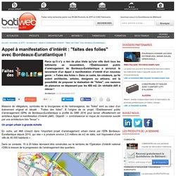 AMI : faites des folies avec Bordeaux-Euratlantique ! - 09/12/16