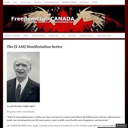 The [I AM] Manifestation Series