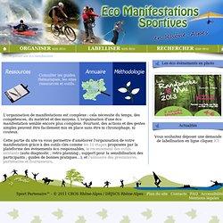 Organiser son éco manifestation - Eco manifestations sportives en Rhône-Alpes