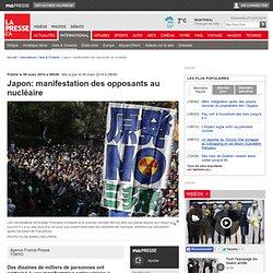 Japon: manifestation des opposants au nucléaire