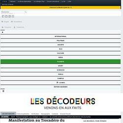 Manifestation au Trocadéro du camp Fillon: chiffres exagérés et bataille d'images