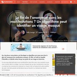 La fin de l'anonymat dans les manifestations ? Un algorithme peut identifier un visage masqué - Politique