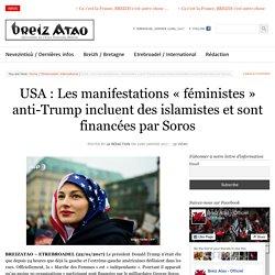 USA : Les manifestations «féministes» anti-Trump incluent des islamistes et sont financées par Soros