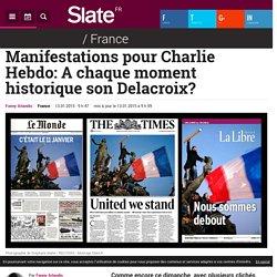 Manifestations pour Charlie Hebdo: A chaque moment historique son Delacroix?