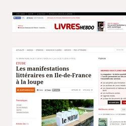Les manifestations littéraires en Ile-de-France à la loupe