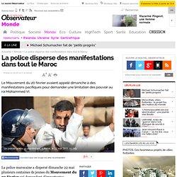 La police disperse des manifestations dans tout le Maroc - Monde
