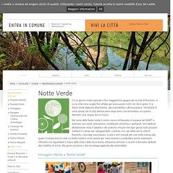 Notte Verde / Manifestazioni culturali / Cultura / Vivi la città / Comune di Rovereto - Comune di Rovereto