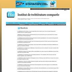 Manifeste de la twittérature