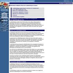 Manifeste UNESCO/IFLA de la bibliothèque scolaire