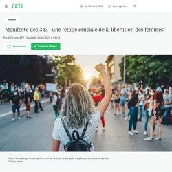 """Manifeste des 343 : une """"étape cruciale de la libération des femmes"""" - Geo.fr"""
