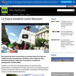 Le monde entier manifeste contre Monsanto